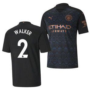 Manchester City Kyle Walker Away Jersey